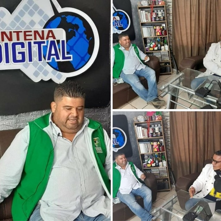 """ATIENDE PUNTUALMENTE EL CANDIDATO DEL """"VERDE"""" GUSTAVO BETANCOURT NÚÑEZ, A LOS MEDIOS DE COMUNICACIÓN."""