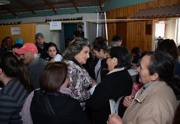 Alcaldesa Virginia Reginato, operativo Miraflores, 3