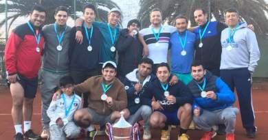 Club de Tenis conconino ganó importante campeonato regional de tenis
