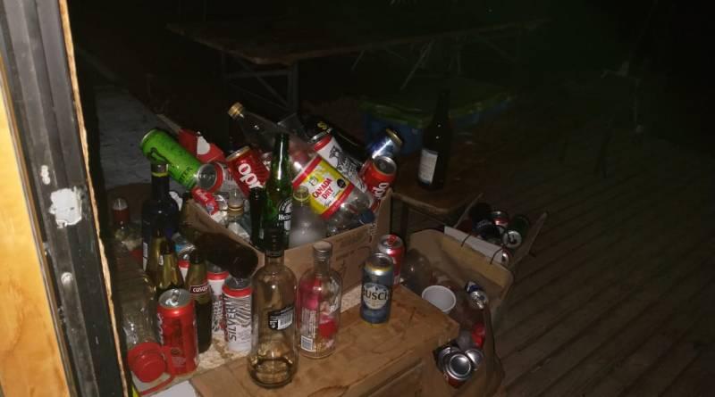 ¡OTRA MÁS! Sorprenden fiesta clandestina en parcela de Colliguay