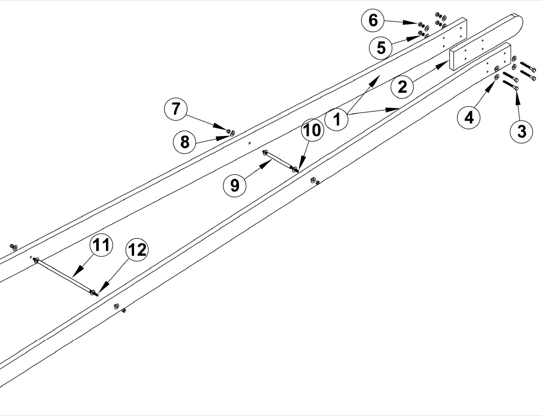 Osco Sg Barrier Operator Osco Gate Arm Assembly Replacement Parts