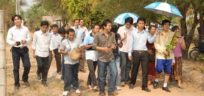 Laos Wedding - hae kuey