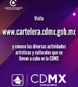 Cartelera CDMX