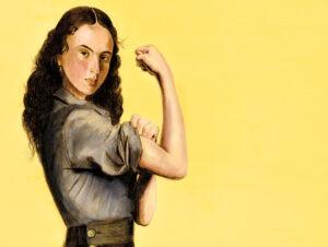 Retrato de una Mujer Heroica. ¿Cuántas más se quedaron atrás?