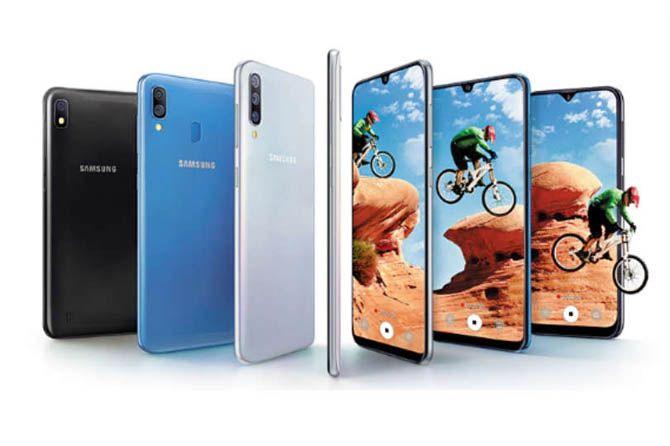 Samsung estrena el Galaxy A80, con cámara triple giratoria