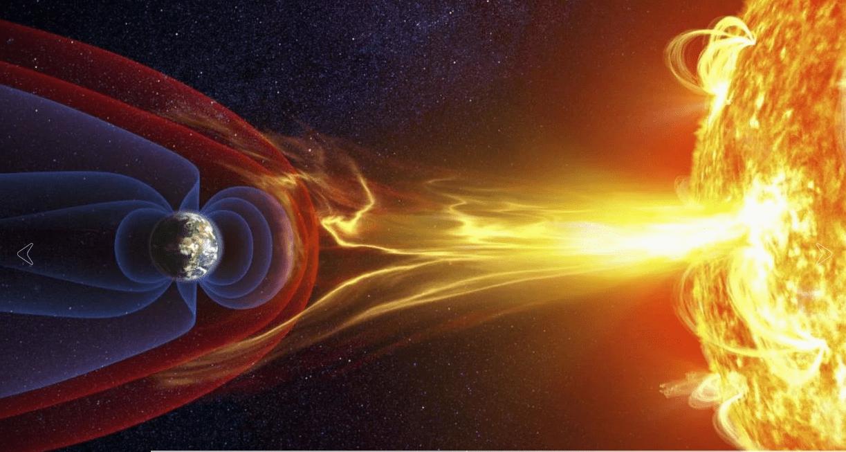 Tormenta geomagnética pega a la tierra los próximos días