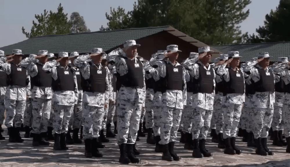 Aceleran despliegue de la GN en la frontera sur