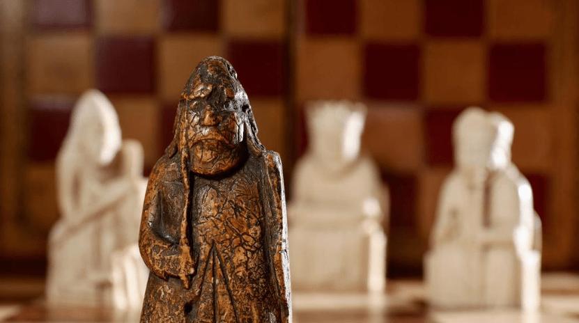 Fea pieza de ajedrez es un artefacto vikingo de 1 mdd