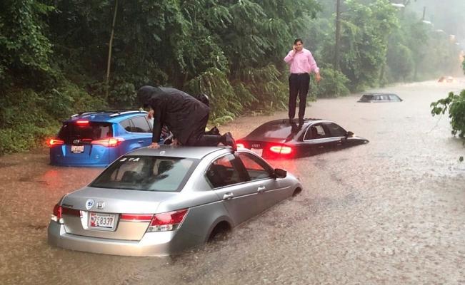 Washington: Lluvias inundaron sótano de la Casa Blanca