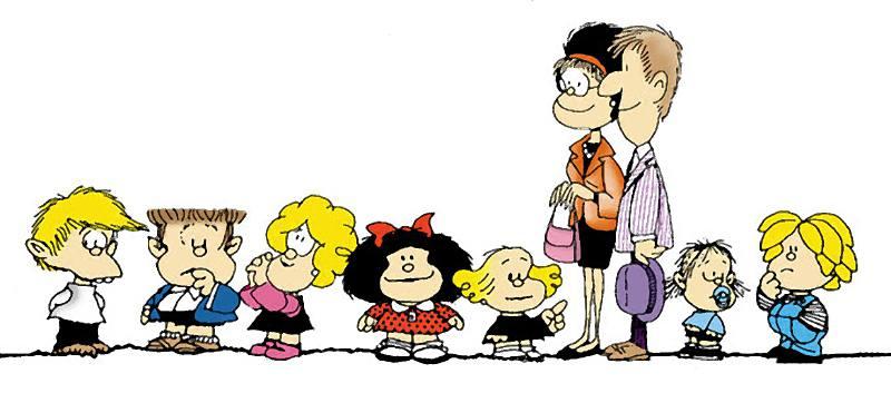Mafalda cumple 55 años desde su lanzamiento al mundo