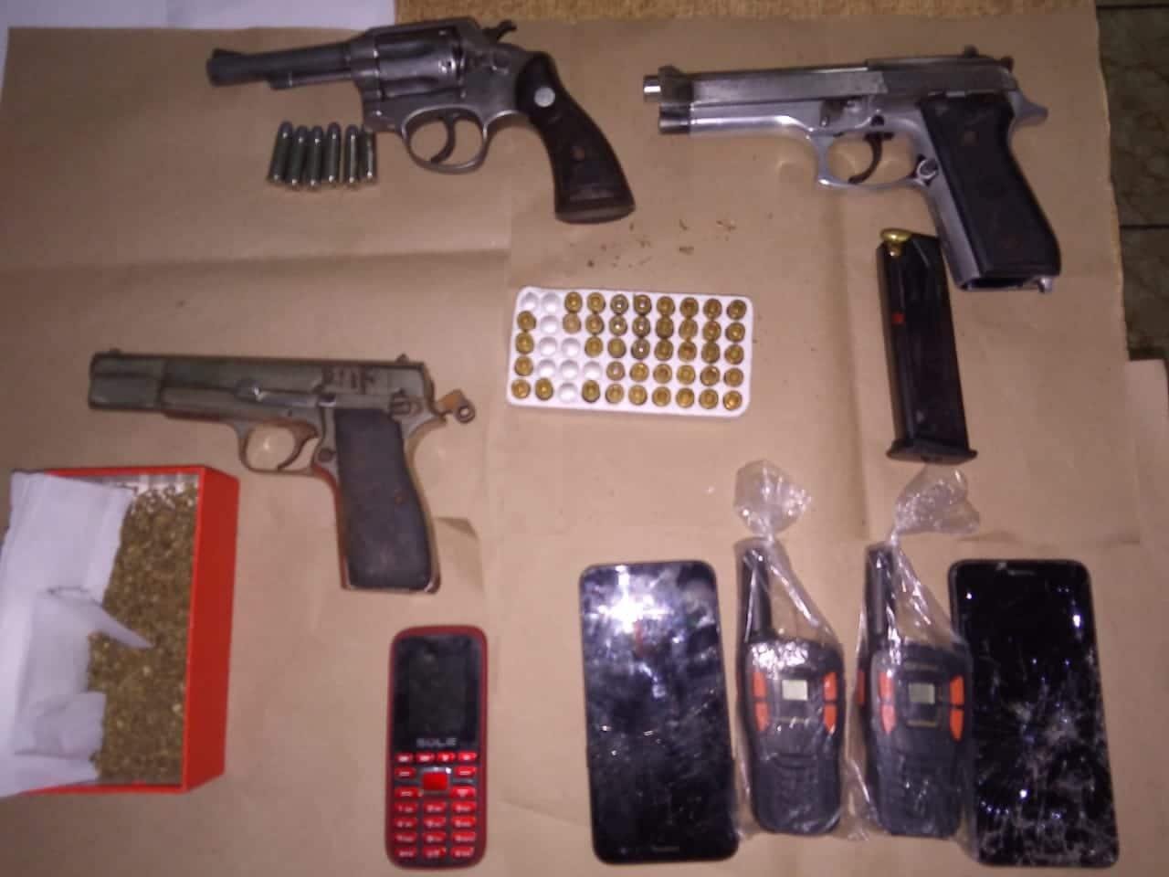 PNC captura a cuatro pandilleros en la Unión 3