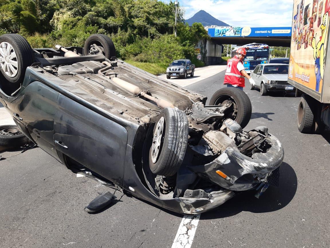 Accidente de tránsito deja dos lesionados en avenida Jerusalén - Diario La Página