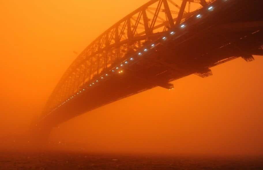 Centenares de casas destruidas a causa de los incendios en Australia