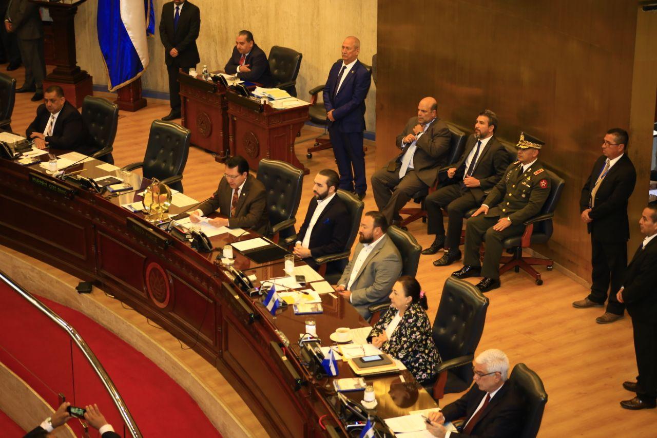 Asamblea rechaza cambio de fecha al informe anual del presidente Bukele