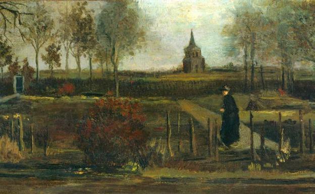 Roban pintura de Van Gogh de un museo de Holanda