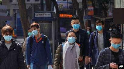 Supera Corea del Sur los 10 mil contagios de COVID-19