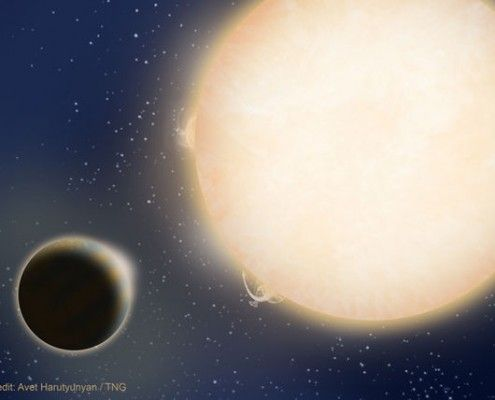 Ontdekking van een bijzondere planeet op La Palma.