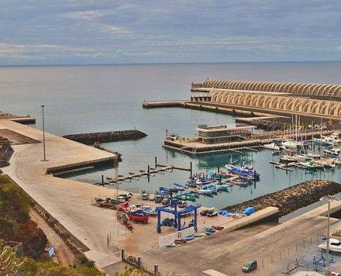 De haven van Tazacorte