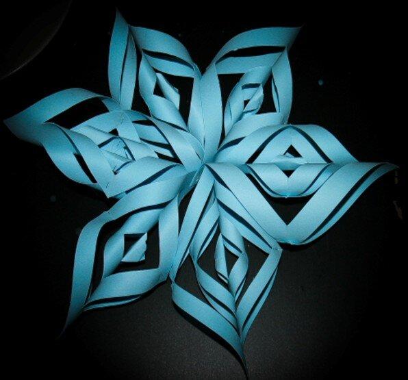 Stella tridimensionale di carta 1