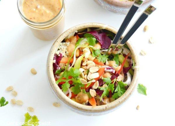 Petite Salade végan Thai
