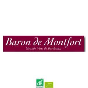 Baron De Montfort ORGANIC - AOC CASTILLON CÔTES DE BORDEAUX
