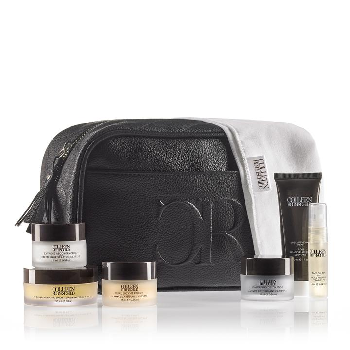 A collection of some of Colleen Rothschild amazing products for traveling