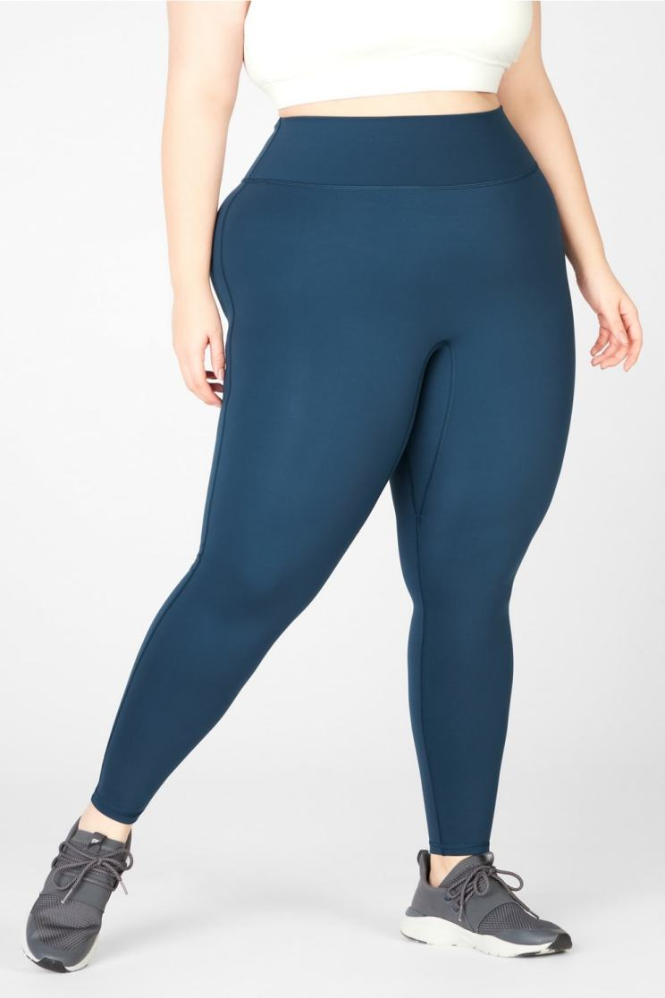 Fabletics Trinity High-Waisted Pocket Legging - Brands Like Gymshark