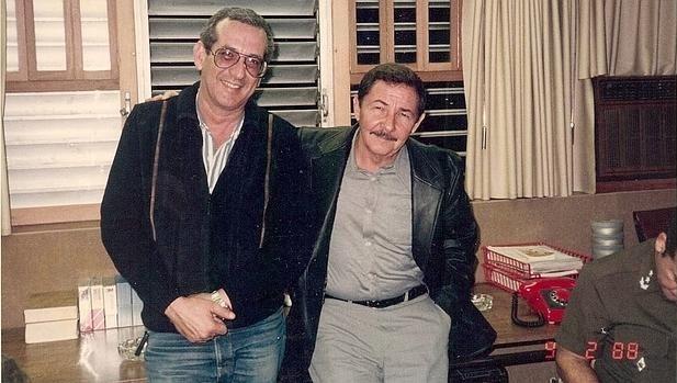 Norberto Fuentes y Raúl Castro. Colección Norberto Fuentes