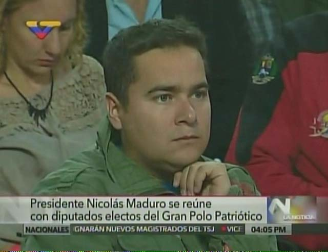 Ricardo Sánchez. Foto: Captura VTV