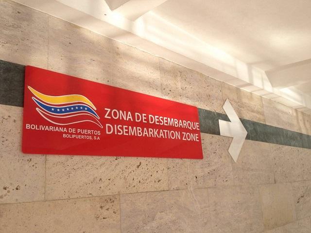Entrada al termina de pasajeros del Puerto La Guaira el 5 de enero de 2016 / lapatilla / Mario Martínez
