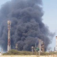 Reportan incendio en refinería Amuay
