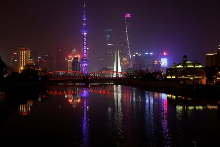Shanghai, China  REUTERS/Aly Song