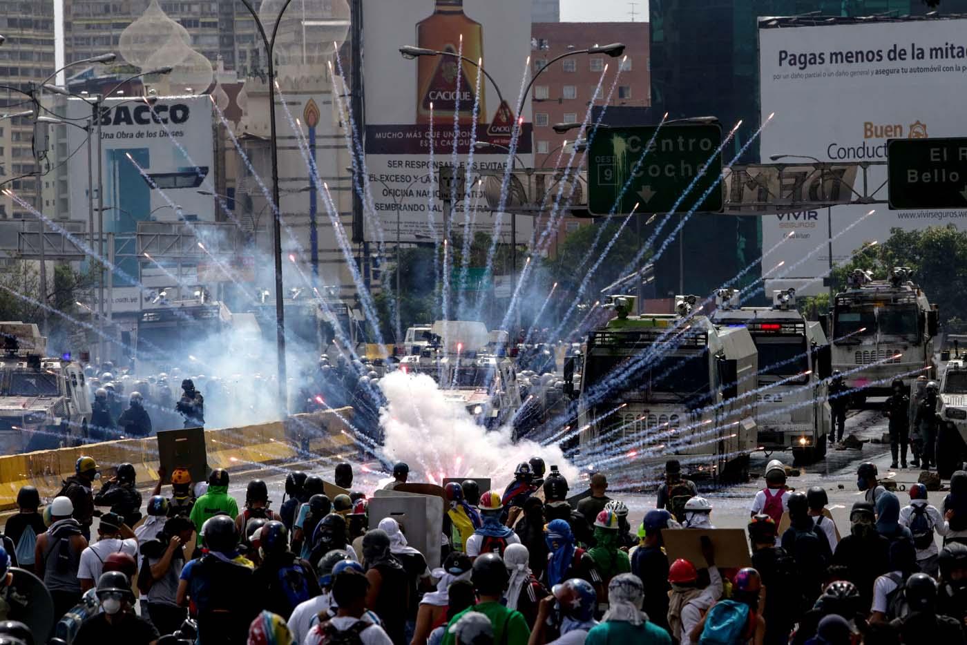 Resultado de imagen para violencia en venezuela hoy