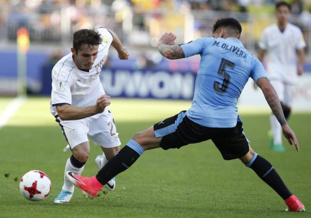 Uruguay pierde con Italia en penales y finaliza cuarto el Mundial Sub-20. Foto: EFE