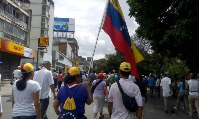 Así estuvo Bello Monte antes de la represión. Fotos: Régulo Gómez / LaPatilla.com