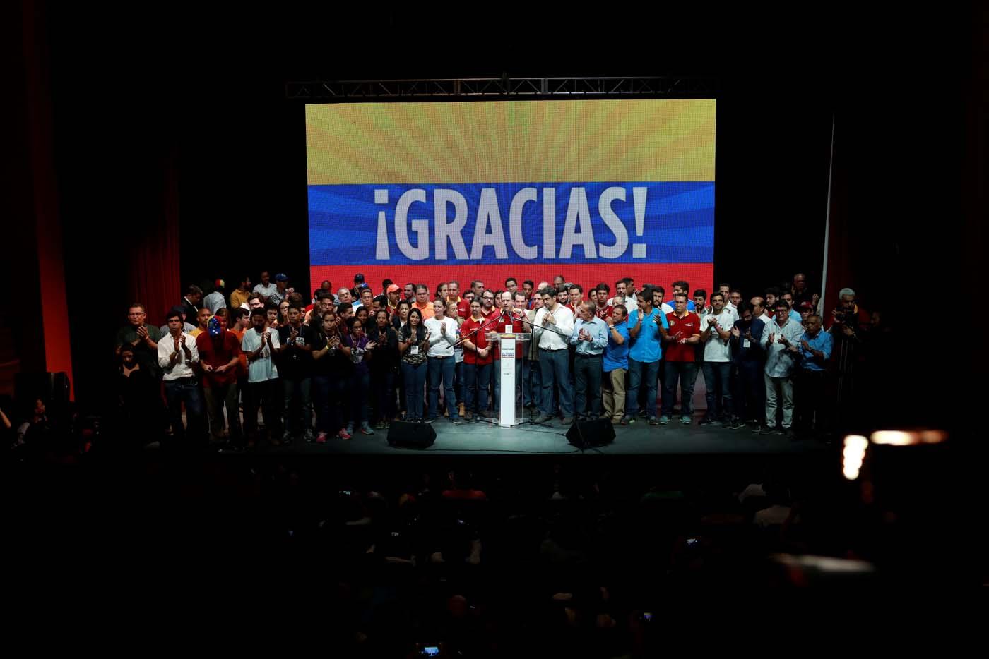Unidad anuncia Hora Cero y exige desmontar la constituyente de Maduro