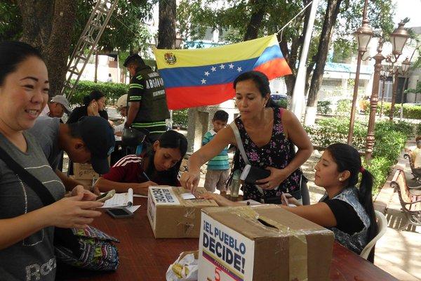 Consulta popular en frontera de Táchira