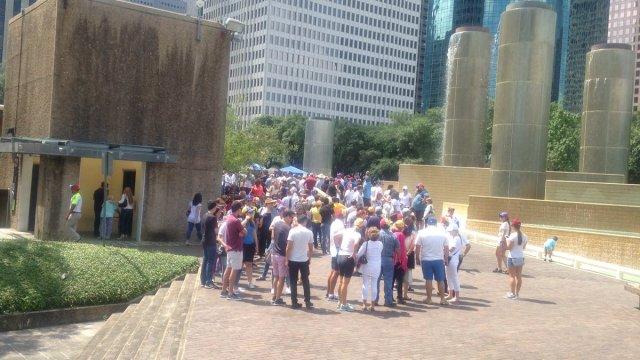 Foto/ Texas se vio inundada de venezolanos para votar en la consulta popular/ Cortesía