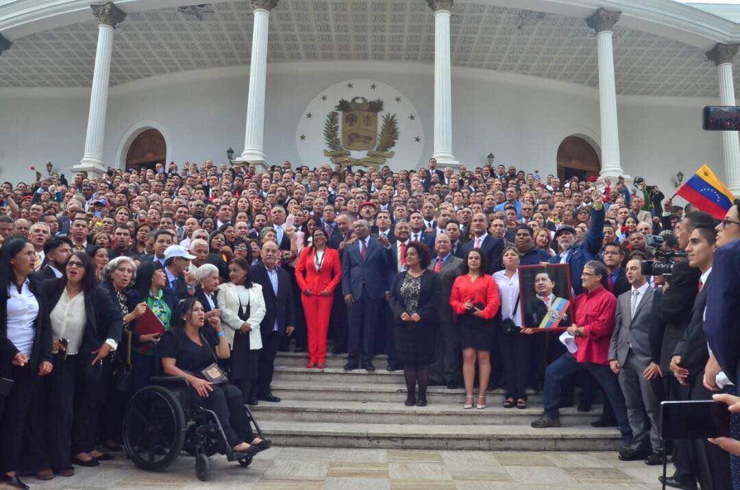 Resultado de imagen para JURAMENTACION ASAMBLEA NACIONAL CONSTITUYENTE VENEZUELA
