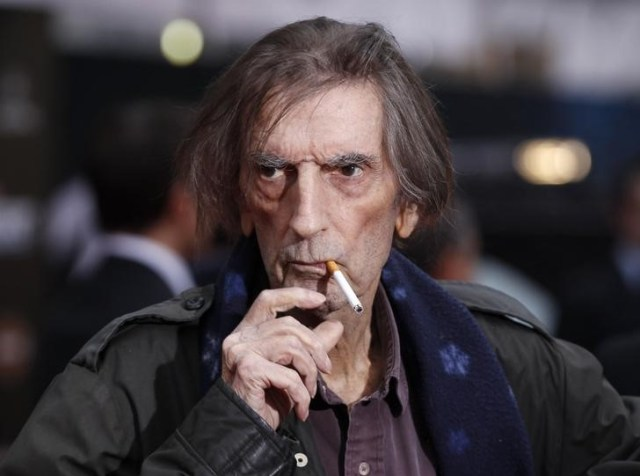 Imagen de archivo del actor Harry Dean Stanton en Hollywood, California, 11 de abril, 2012. REUTERS/Danny Moloshok