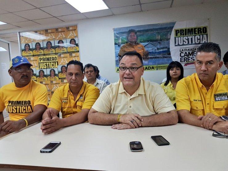 El mismo pueblo de Guayana escogió a su candidato no impuesto a dedo y gracias a ello seguiremos trabajando por la MUD./ Foto Prensa