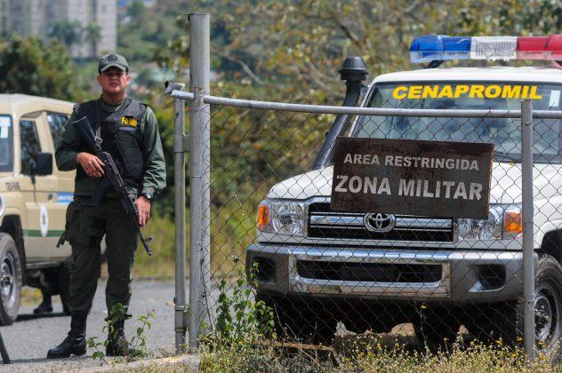 La cárcel de Ramo Verde donde están detenidos López y Ceballos (Foto EFE)
