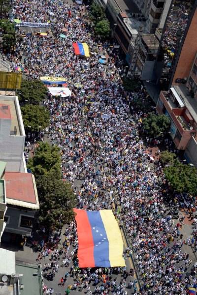 VENEZUELA-POLITICS-CUBA-PROTEST