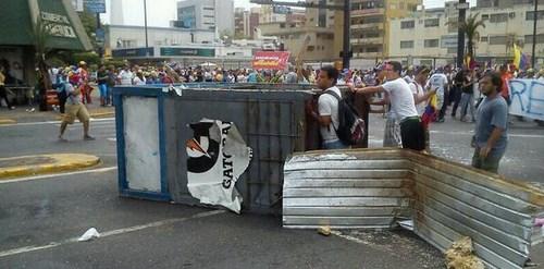 barricada maracaibo
