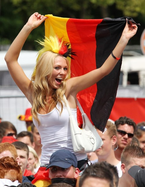 Public Viewing: Germany v Serbia - 2010 FIFA World Cup