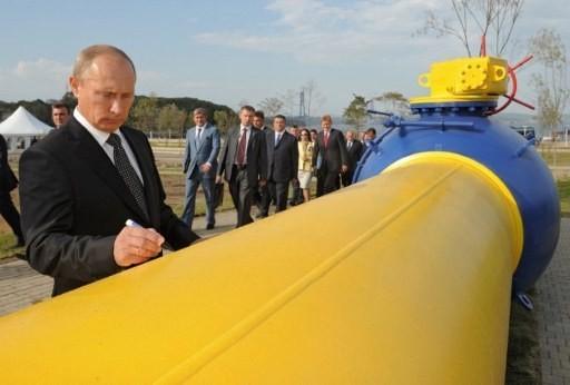 Gas y Putin