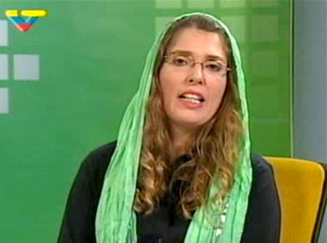Vanessa en sus inicios en VTV