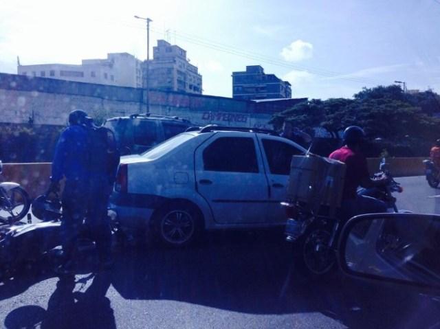 motorizado accidente