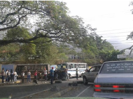 protesta en guarenas