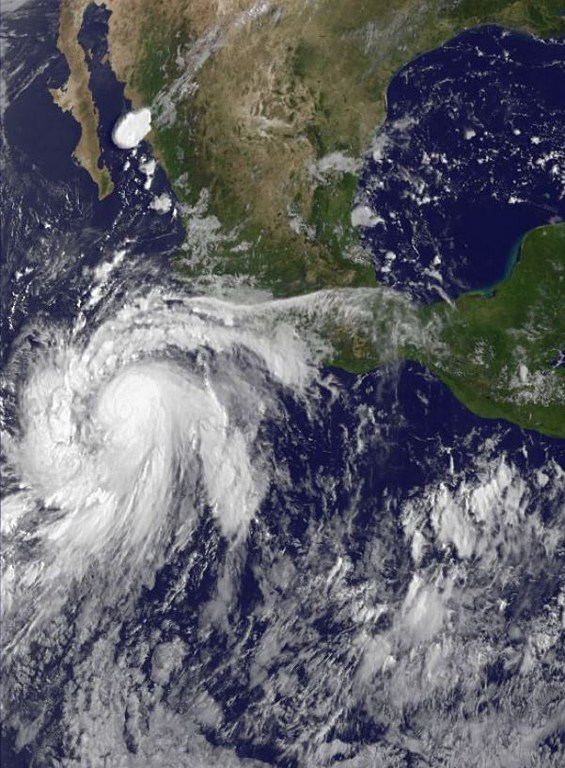 MEXICO-WEATHER-STORM-MARIE